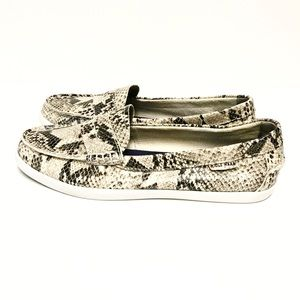 Cole Haan: Snakeskin Slip On Sneakers